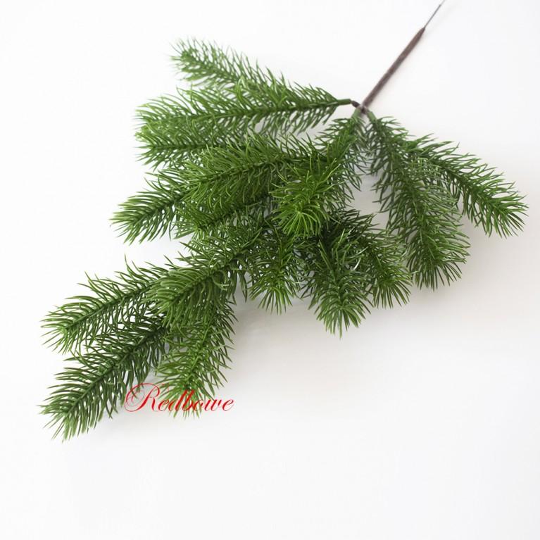 Ветка елки зеленая хвоя П382