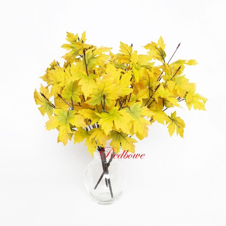 Ветки клена Осень желтые Б384