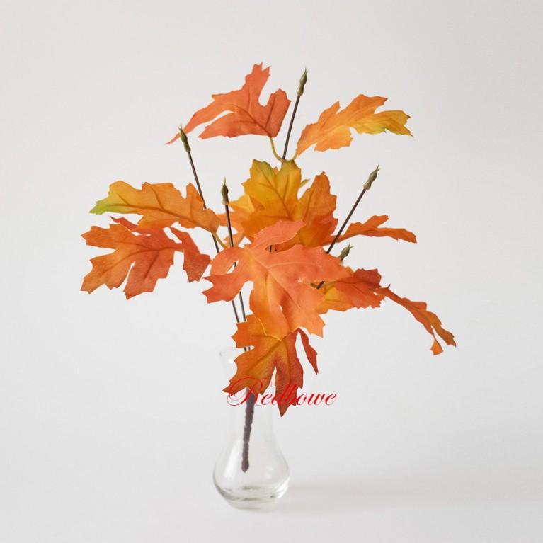 Осенние ветки дуба малые Б386