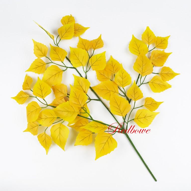 Ветка березы желтая Б459