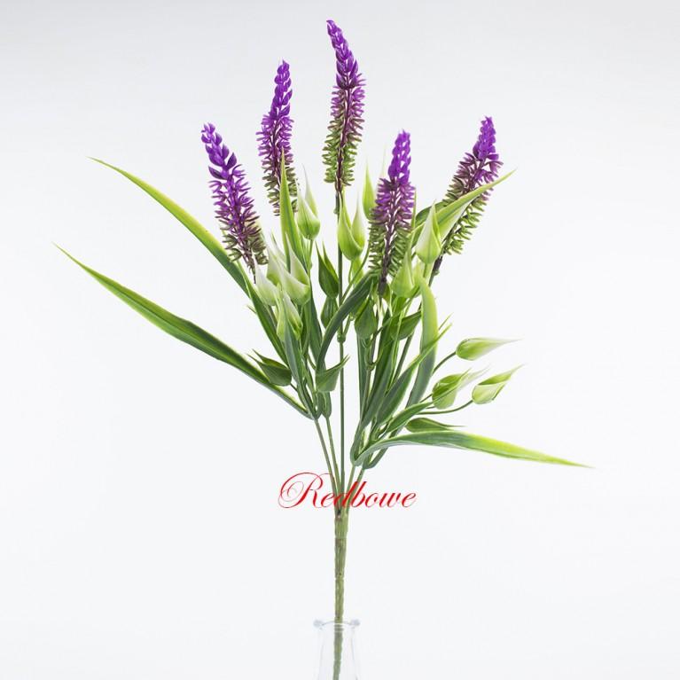Вереск фиолетовый с декором П395