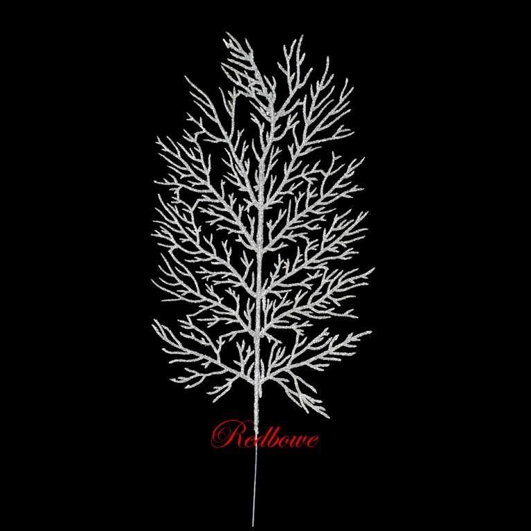 Веточки коралла  серебряные П440-1
