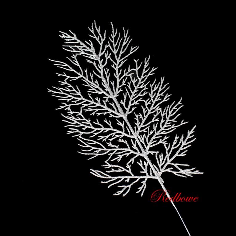 Веточка коралла серебряная  П440