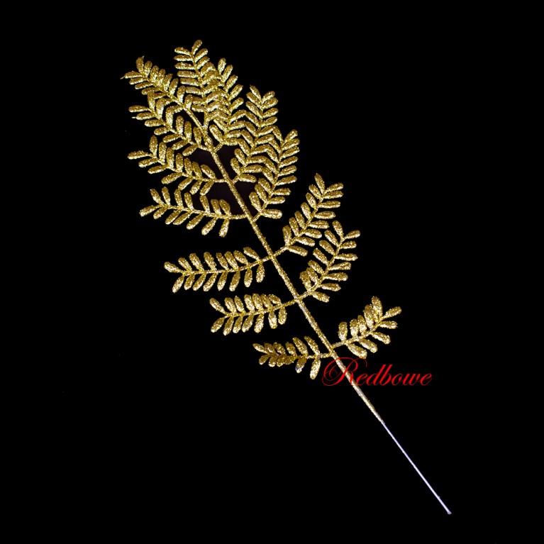 Веточка золотая с мелкими листочками ДН76